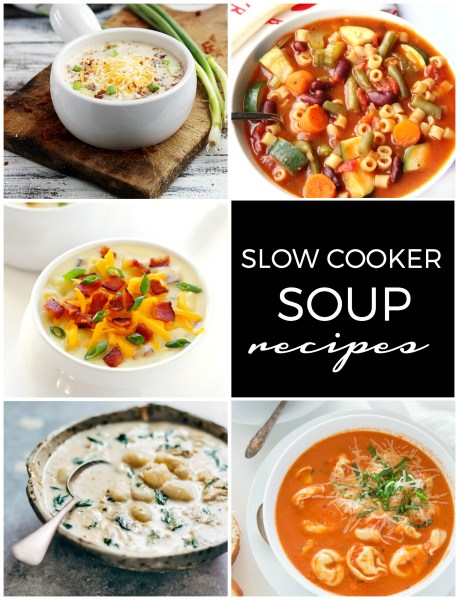 10 Slow Cooker Soup Recipes