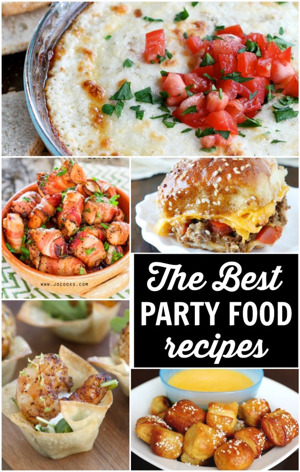 Easy Party Food is the reason for having any gathering, right?
