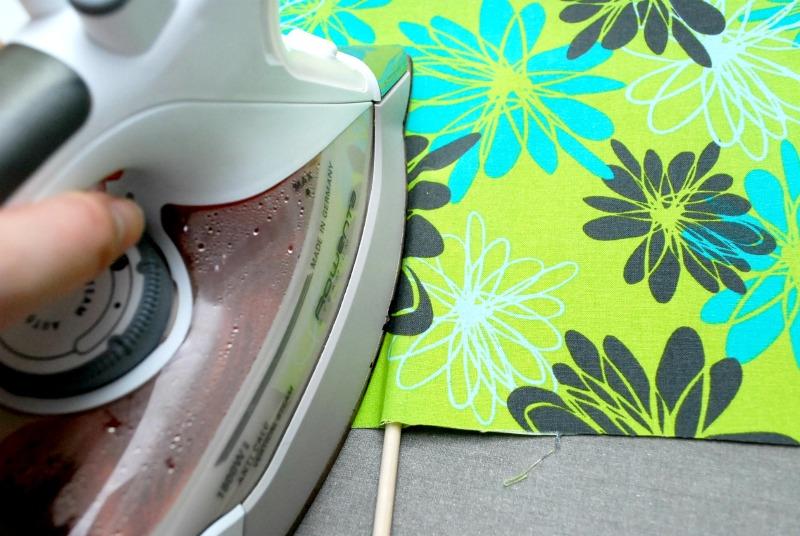 No Sew Fabric Palm Leaf 4