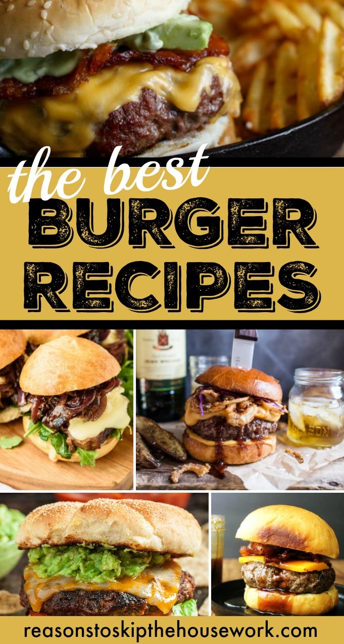 The Best Burger Recipes