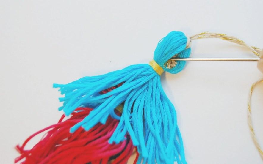 DIY Tassel Charm 10