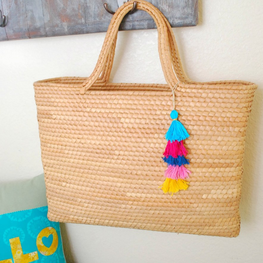 DIY Tassel Charm -- The Silly Pearl for Reasons to Skip the Housework