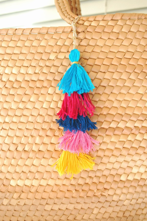 DIY Tassel Charm - The Silly Pearl for Reasons to Skip the Housework