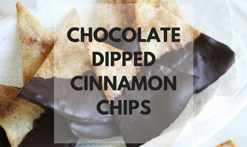 Chocolate Dipped Cinnamon Chips