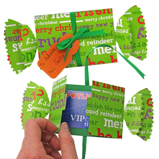 Seasonal Paper: Gift Cards can sometimes be a boring thing to give but a great thing to receive. So why not spice up the way you give them!