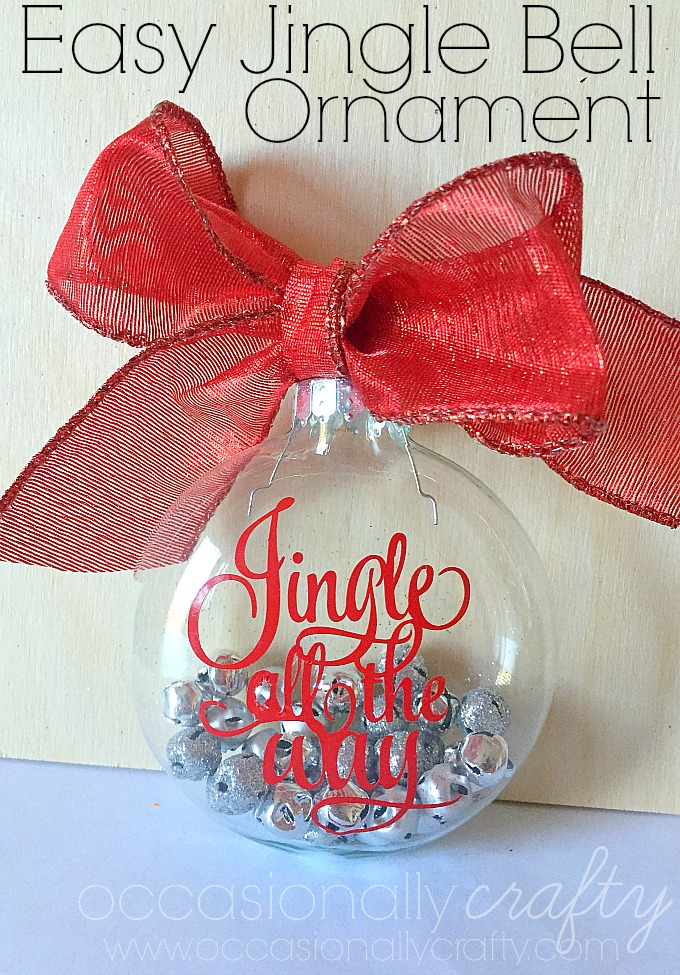 Jingle Bell Ornament: These creative handmade ornaments will add a special touch to your Christmas tree this season!