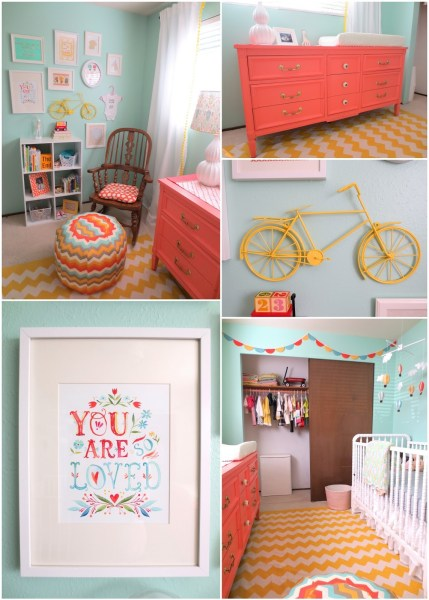 Girl Nursery: Here are some Girl Nursery Ideas that you're sure to absolutely love - so get yourself inspired and start decorating!