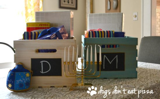 Hanukkah Gift Crates: Make your own Hanukkah crafts or get the whole family involved with one of these 10 Hanukkah Crafts