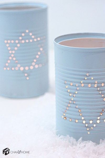 Hanukkah Luminaries: Make your own Hanukkah crafts or get the whole family involved with one of these 10 Hanukkah Crafts
