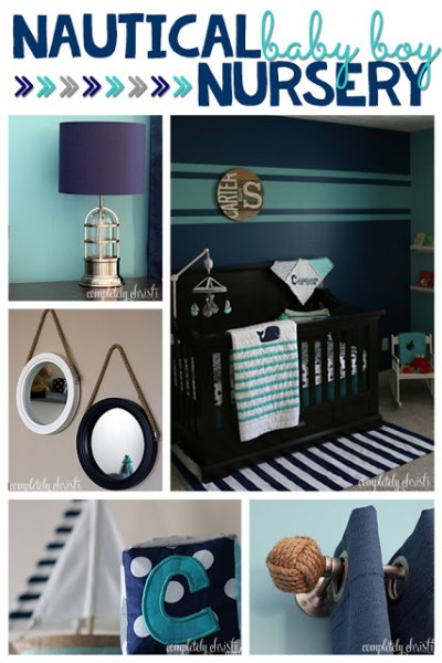 Nautical: Boy Nursery Ideas: From narrowing down the boy nursery ideas to painting the walls, there are a lot of ways you can uniquely design the room for your new baby.