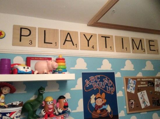 Toy Story: Boy Nursery Ideas: From narrowing down the boy nursery ideas to painting the walls, there are a lot of ways you can uniquely design the room for your new baby.
