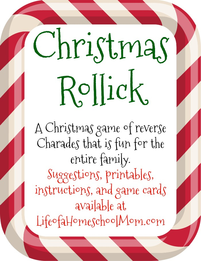 Group Party Games: Christmas Rollick