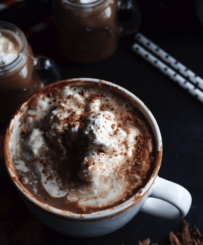 You'll certainly enjoy these 10 Spiked Hot Chocolate Recipes during the chilly Winter season.