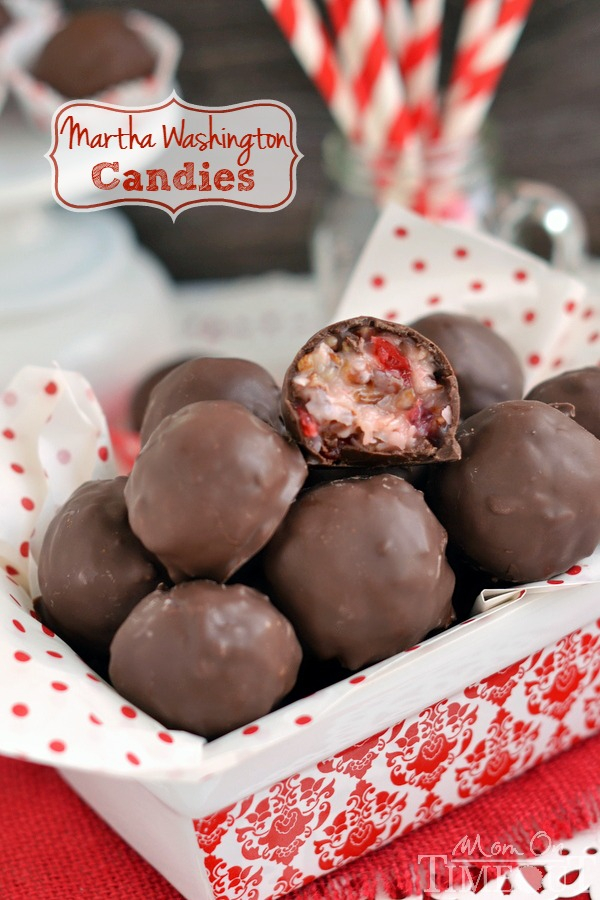 Chocolate Covered Cherries : Martha Washington Candies
