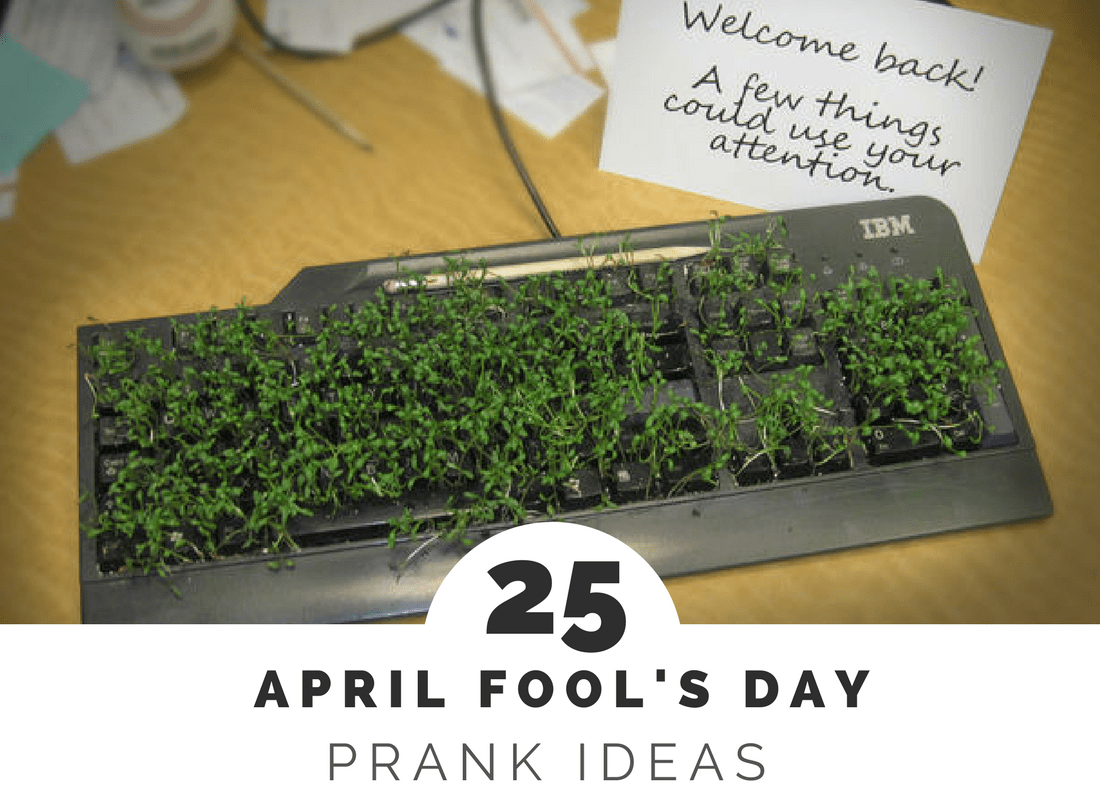 25 of the Best April Fool's Day Pranks
