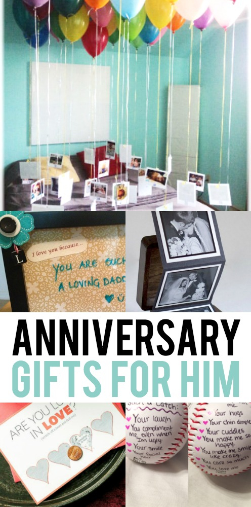 Anniversary Gifts for Him
