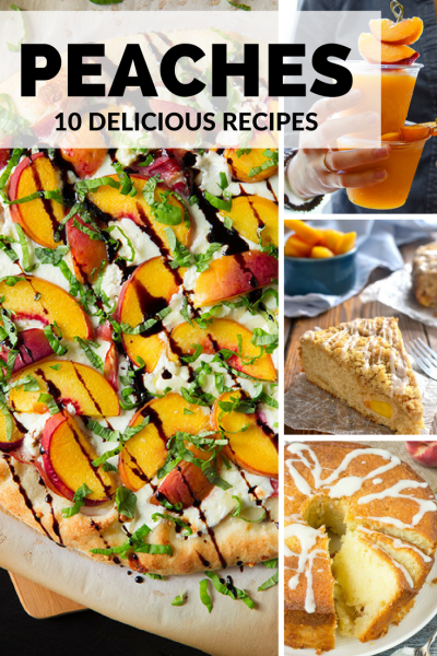 Here are 10 Delicious Peach Recipes you can (and should!) try this season!