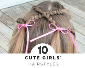 Mornings can be hectic, and doing a fancy hairstyle for your daughter may not always be in the cards. Instead, try one of these 10 simple but darling Hairstyles For Little Girls and she'll be out of the door looking fabulous in no time at all