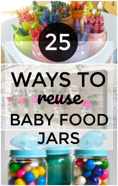 You can reuse Baby Food jars in so many unique ways!