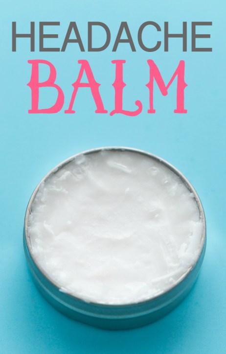 Ways To Use Coconut Oil - Headache Balm