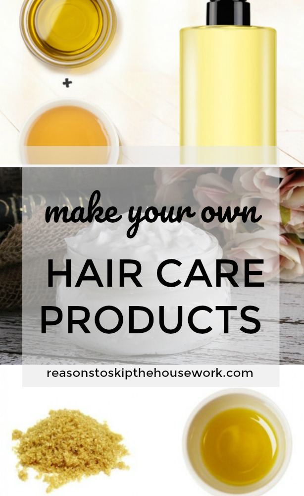 DIY Hair Care Products