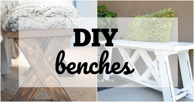 DIY BEnches fb