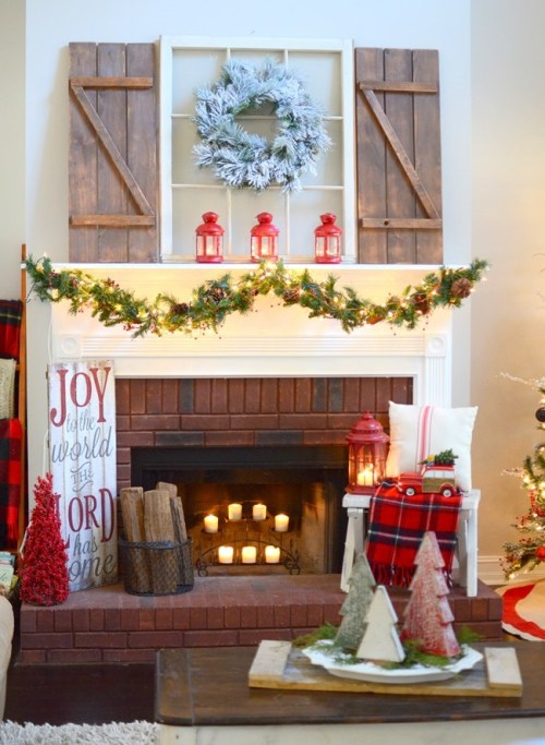 http://thefrugalhomemaker.com/2016/11/30/christmas-mantel-at-our-new-home/