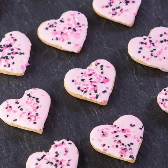 GF Valentines Sugar Cookie Bites