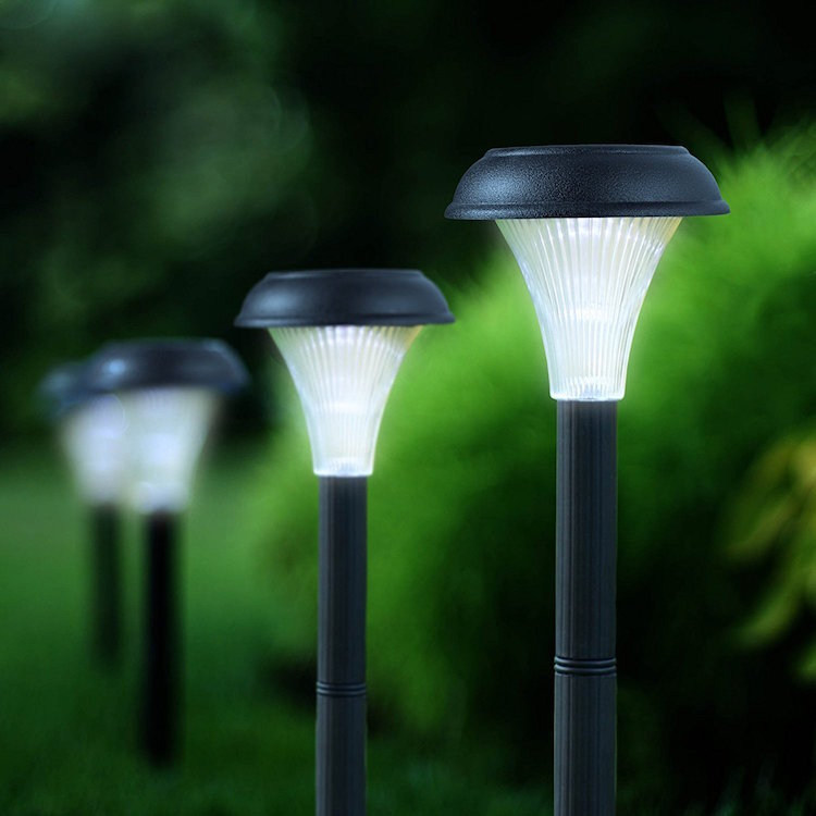 Light Up Your Garden, Yard, Deck, Or Driveway In Less Than A Minute By  Installing These Solar Powered Outdoor Lights By Garden Bliss.