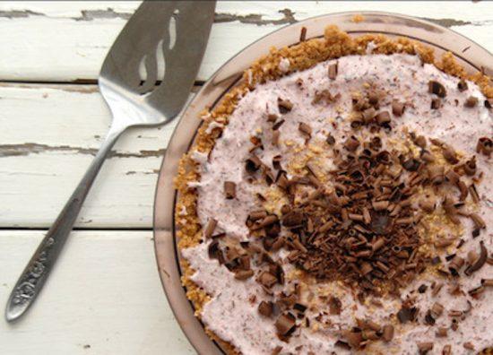 Sweethearts Cherry Chocolate Chip Pie