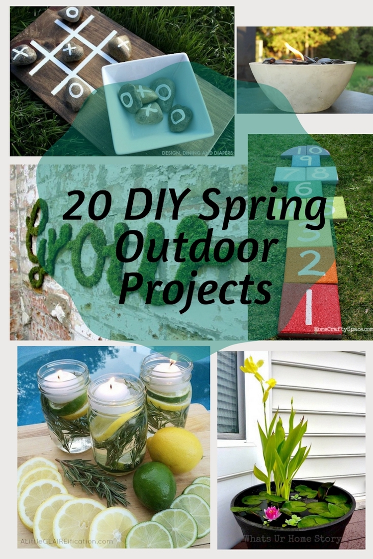 20 DIY Spring Outdoor Projects (1)