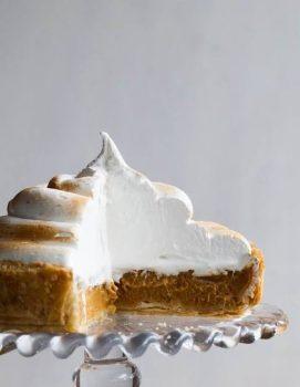 Deep Dish Pumpkin Meringue Pie