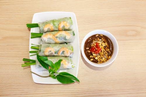 shrimp scampi roll-ups