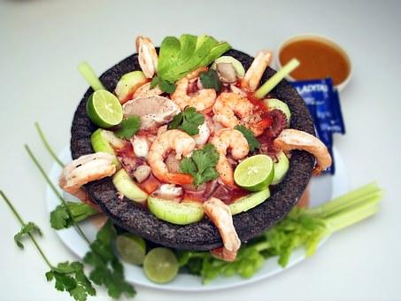 shrimp food seafood gourmet sea