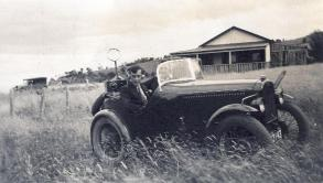 Bill Nicholas, VK7WR, won the hidden transmitter hunt at the Field Day held in conjunction with the WIA Federal Convention in Hobart in 1935.