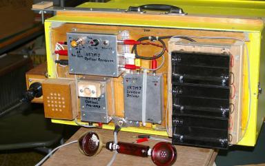 Mike Groth VK7MJ's Optical Transceiver