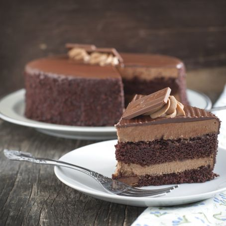 Tarta de chocolate en capas 425