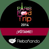 ¡Vótame y ayudame a asistir al Paris Food Trip 2014!