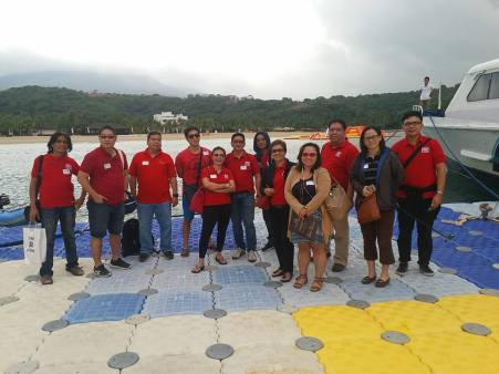 REBAP Makati Membership Meeting RMMM January 25, 2017 at Camaya Coast Mariveles Bataan. Camaya Coast is a 350-hectare development that enclave commercial establishments and residential communities anchored on an eco-tourism leisure concept along the coastline of Mariveles, Bataan.