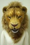 ライオンマスク正面