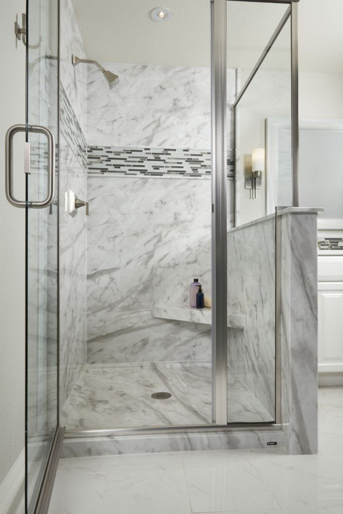 Cleaning Bathroom Walls