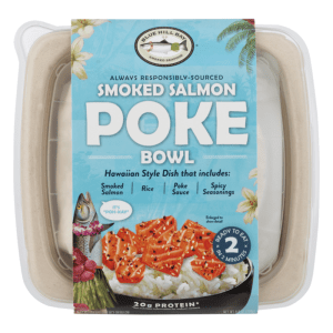 Blue Hill Bay Smoked Salmon Poke Bowl