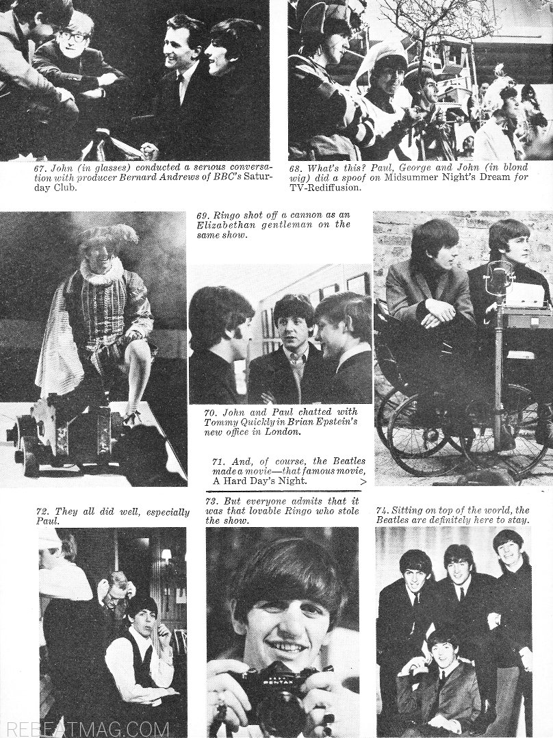 RAVER: Beatlemania! | REBEAT Magazine