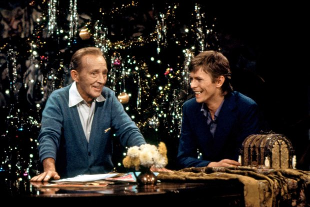 but bowie was a tough sell he admitted that he was only participating because his mother was a fan of bing crosby - David Bowie Christmas
