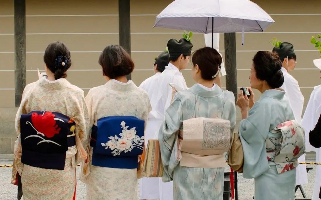 Learning Kimono