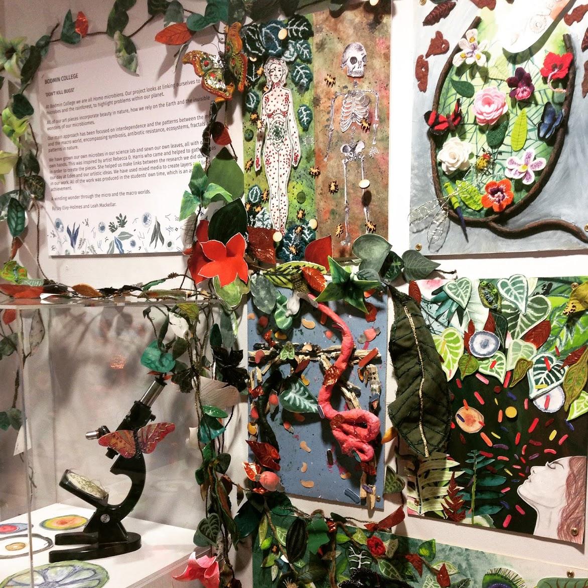 Rebecca Harris bodmin college art workshop