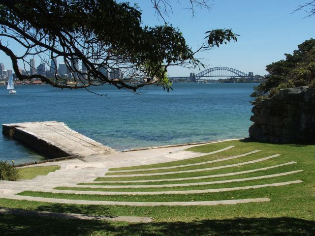 Shooting location for Mission Impossible II, near the Sydney Harbour for scenes shot on Bradley's head.
