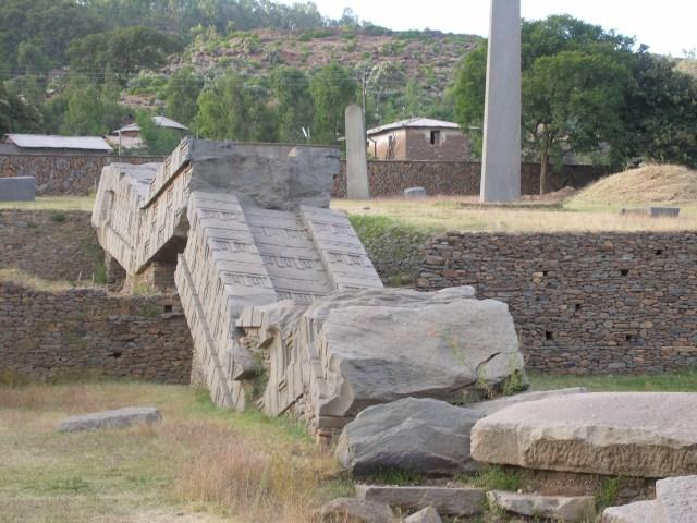 Aksum ruins. Photo credit : Francesco Bandarin for UNESCO