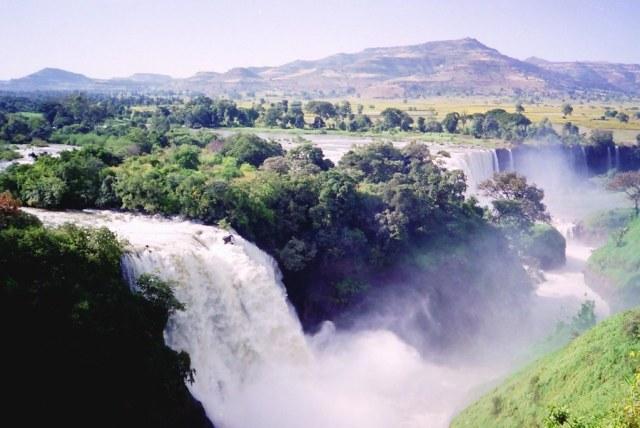 Blue Nile Falls. Photo Credit: CT Snow