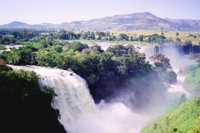 Blue Nile Falls. Photo Credit: CT Snow